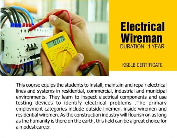 Fabulous Electrical Wiremen Tti Kondotty Wiring 101 Orsalhahutechinfo